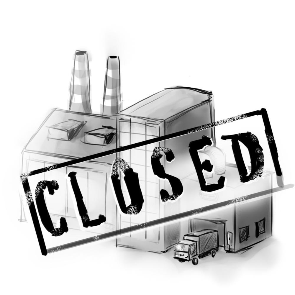 При сокращении штата, ликвидации компании